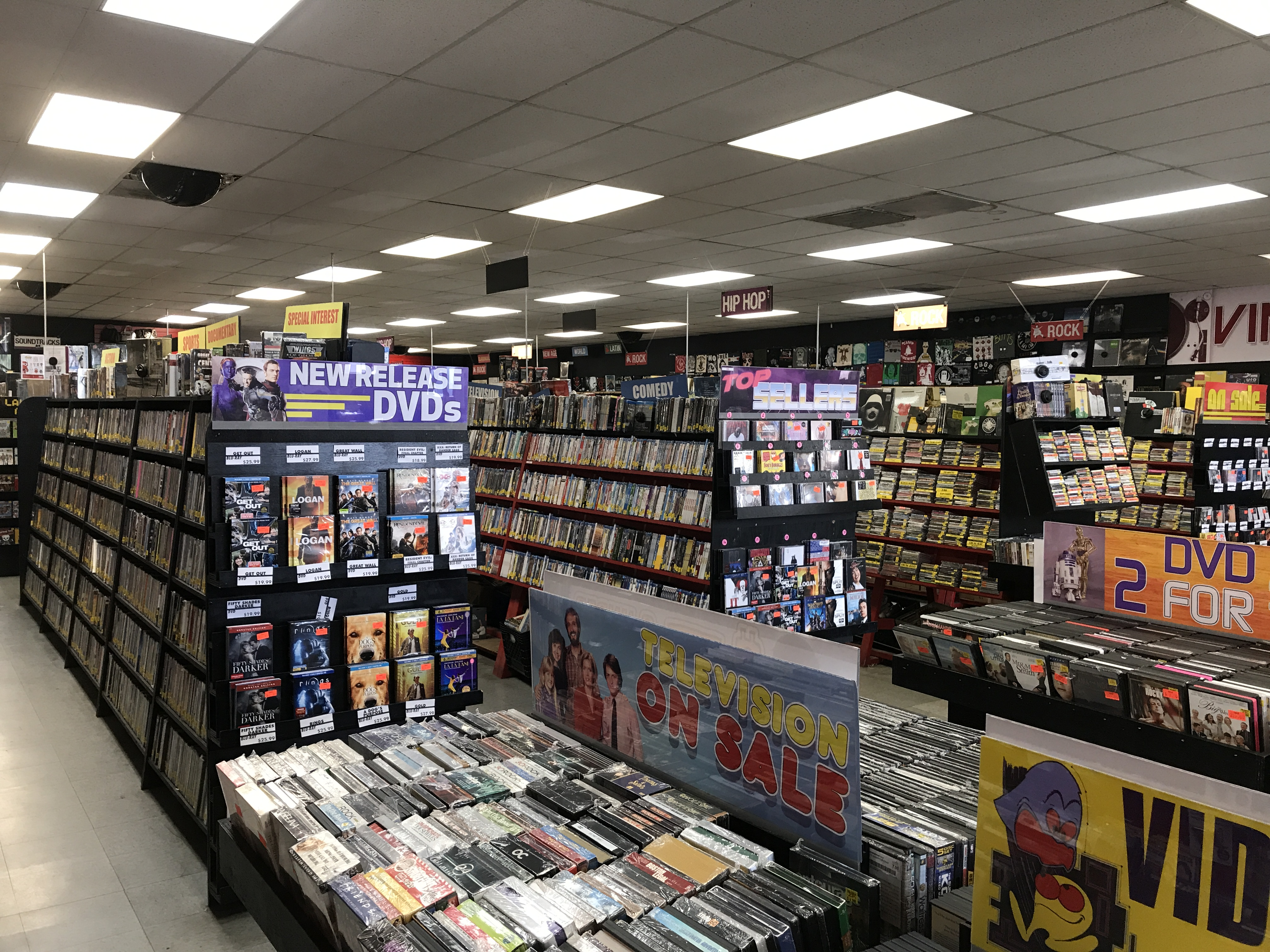 Tucson record stores 7th level music tucsons zia record exchange is a fun place full of cds dvds toys games and a bunch of other stuff i probably missed they cram a lot into a small solutioingenieria Gallery