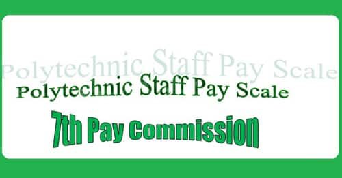 Polytechnic Staff Pay Scale Matrix Allowance