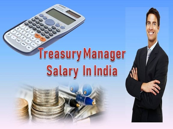 Treasury Manager Salary