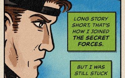 Secret Forces: Zombieopolis 24: Top Secret Stuff