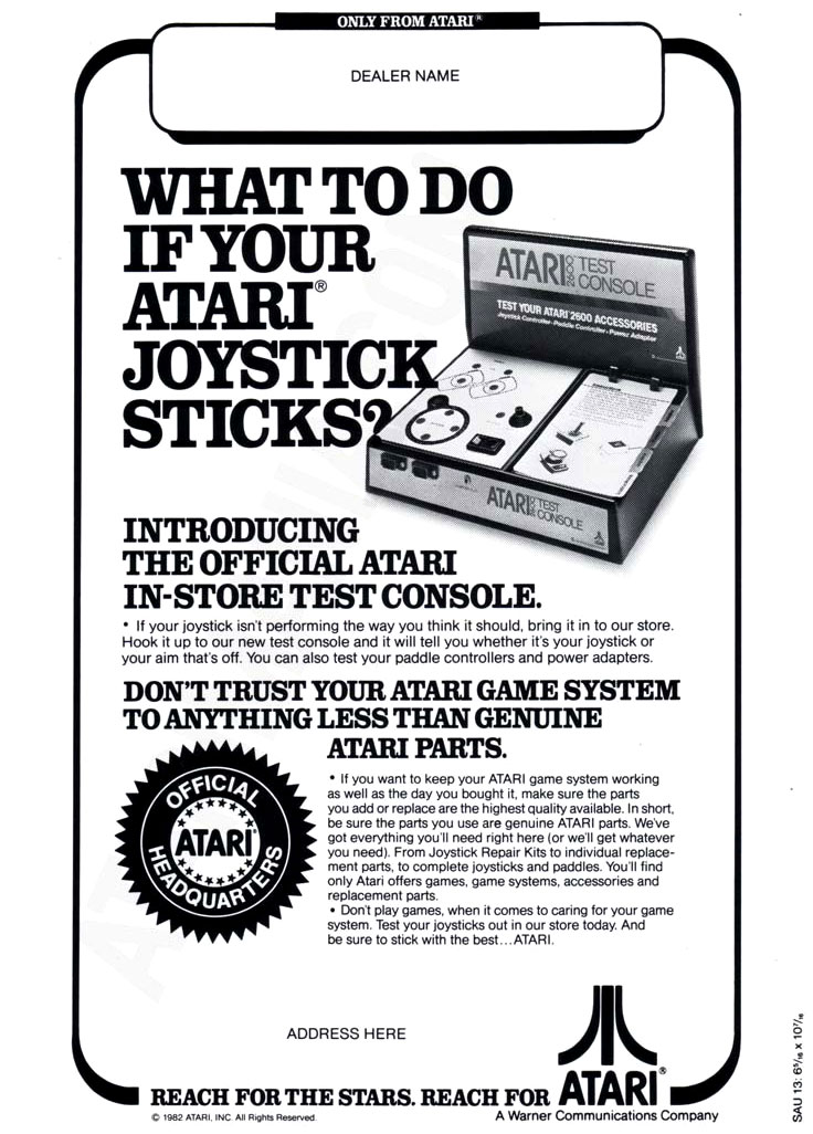 Some #Atari dealers could resolve VCS diagnostic woes with