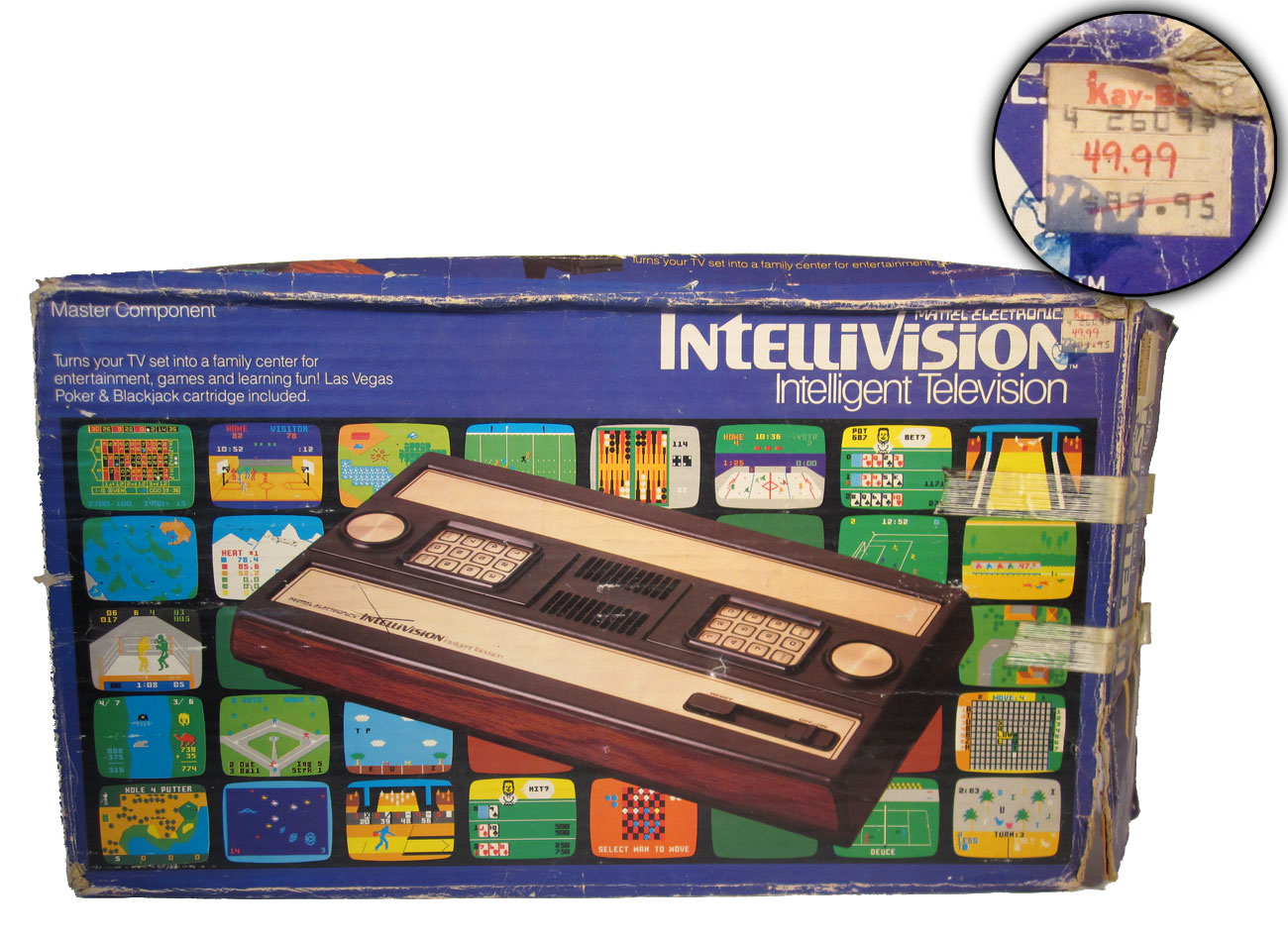 Mattel Electronics Intellivision Was The First Serious