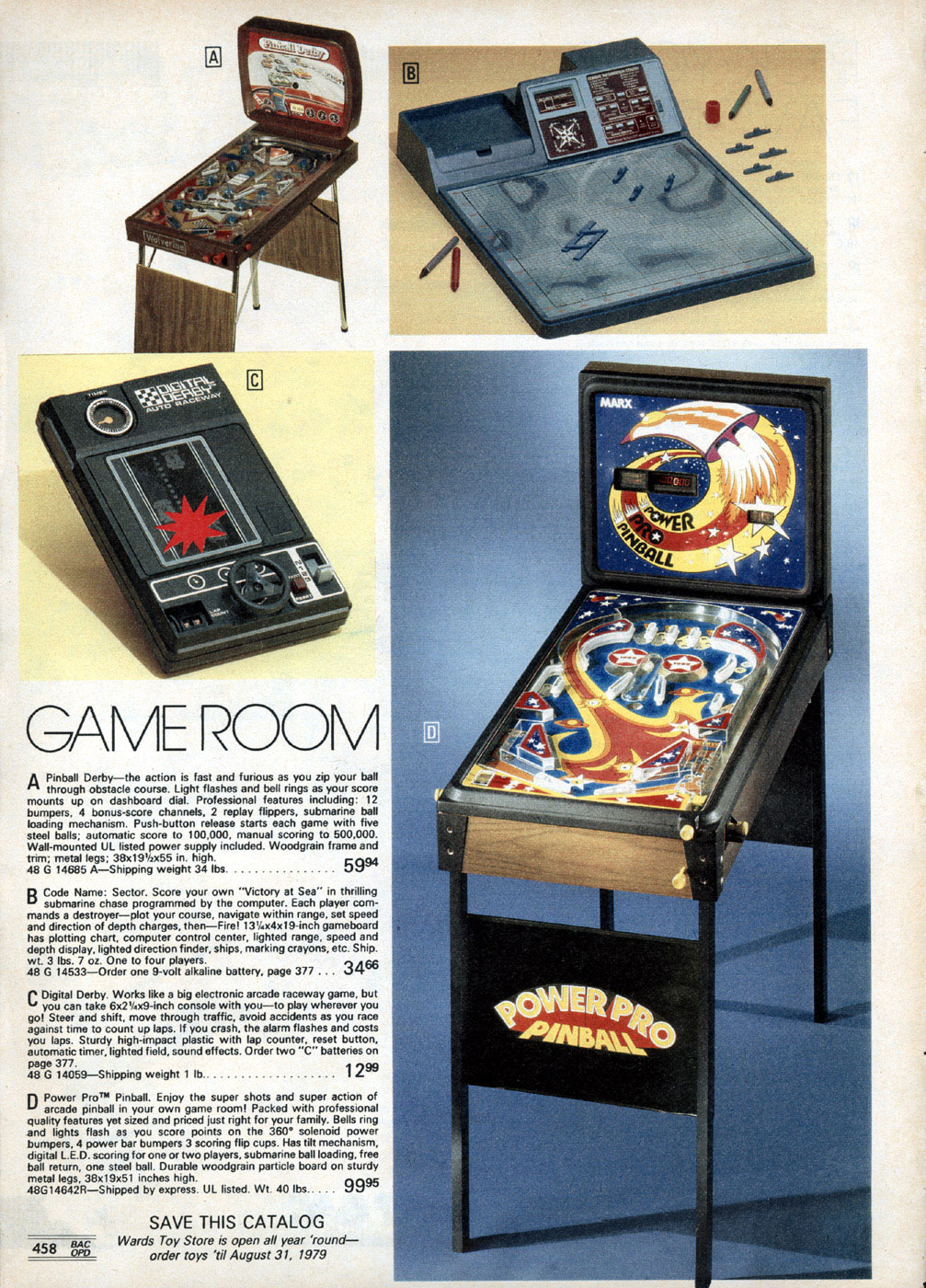 Retro toys and videoGames from the Montgomery Ward