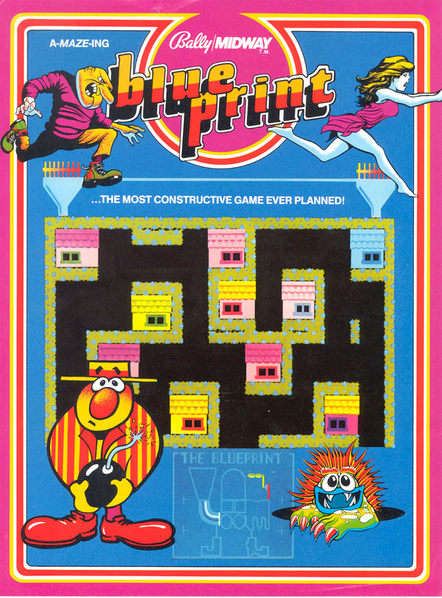 Game review CBS Electronics Blueprint for Atari 5200