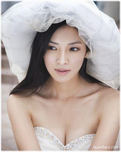 Kim So Yun's Beautiful Wedding Dress