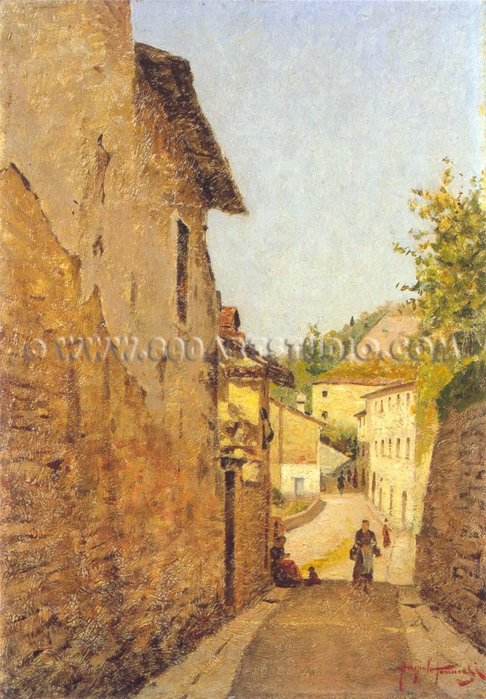 Angiolo Tommasi 1858  1923 Biografia Quadri in vendita