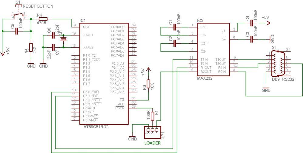 medium resolution of at89c51 programmer