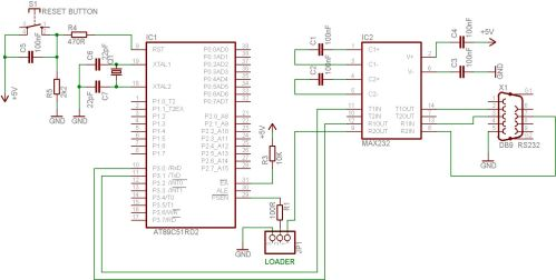 small resolution of at89c51 programmer