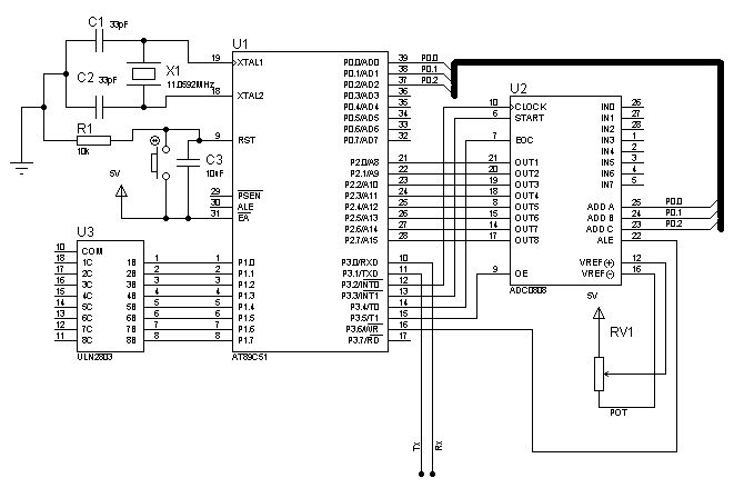 Forums / Project Help / Data acquisition system using 8051