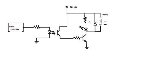 Forums / 8051 Discussion Forum / microcontroller relay