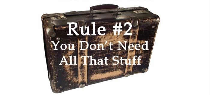 Rule #2 featured copy