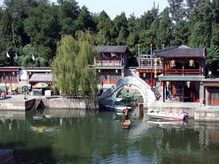 Little Suzhou in the Summer Palace