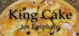 King Cake mini poster