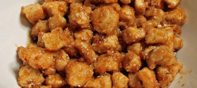 Highchair Travelers: Japanese Sesame Chicken