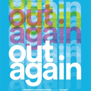 """Poster for Robin Cloud's """"Out Again"""""""