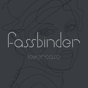 Type Design: Fassbinder (Lowercase)
