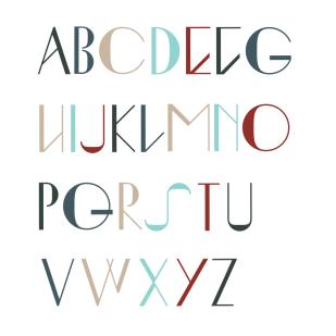 Type Design: Ingrid (Uppercase)