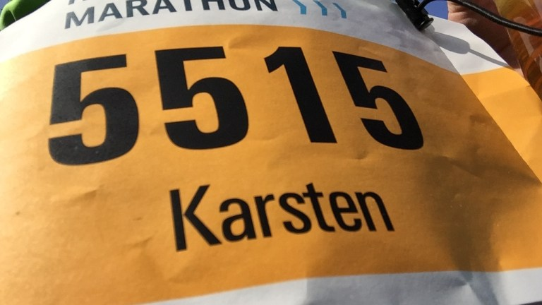 Das Wetter zu heiß, der Magen gereizt – HAJ Hannover Marathon 2017