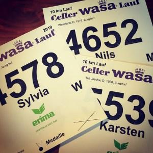 37. Celler Wasa-Lauf - Startnummern