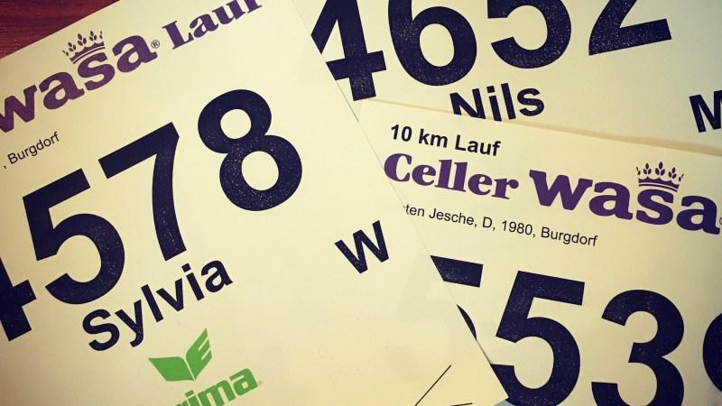 Wenn du gleichzeitig Bestzeit läufst und dir zwei Sekunden die Laune verhageln – 37. Celler Wasa-Lauf