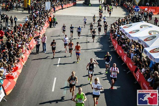 Nur ein paar Meter noch - Berliner Halbmarathon 2019
