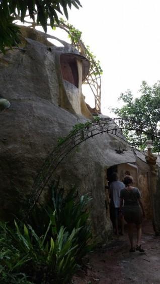 entrada cueva