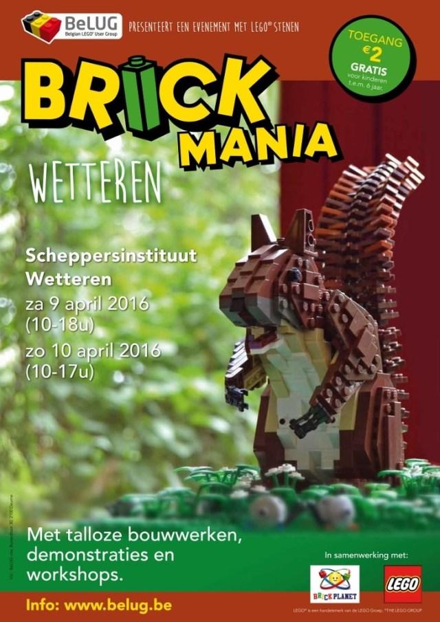 Brick Mania Kris Geysen LEGO 80sGeek