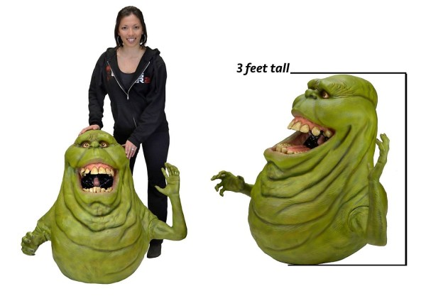 Slimer Ghostbusters size