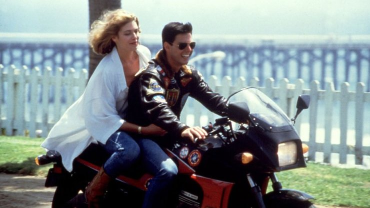 Top Gun Charlie Cruise motorcycle