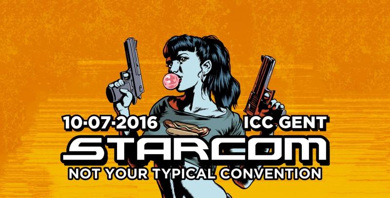 Starcom Comic Con Gent
