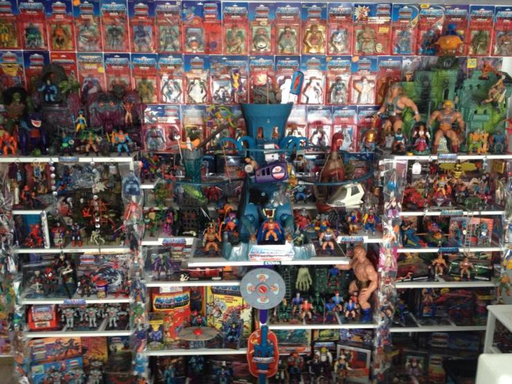 shelfporn Masters of the universe