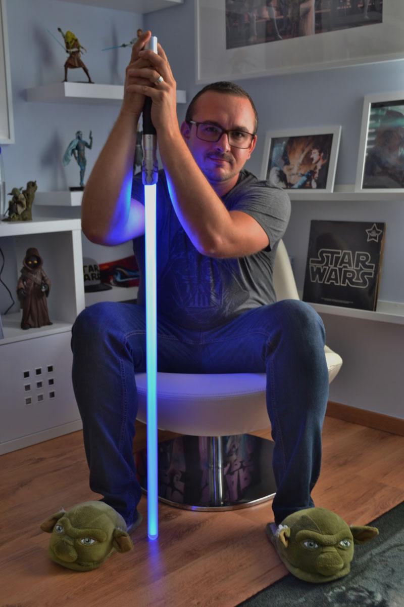 Davy Segers Star Wars Selfie Darth Vader