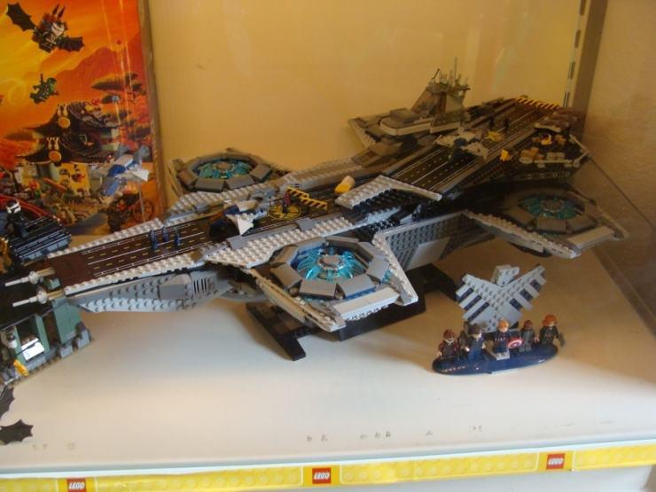 LEGO SHIELD Heli-Carrier