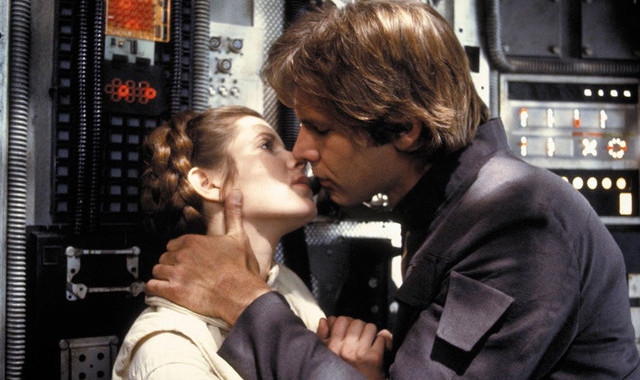 The Empire Strikes Back The Kiss