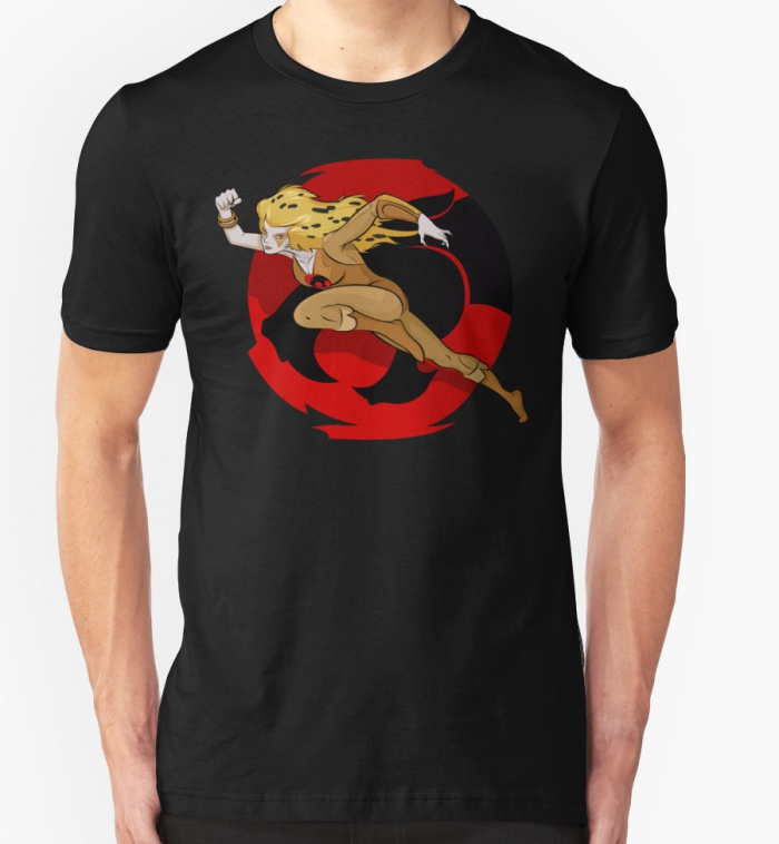 Shirts Cheetara Thundercats Black