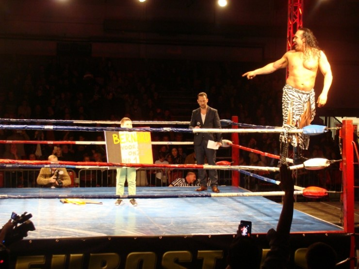 Eurostars Wrestling Brugge Bernard Vandamme