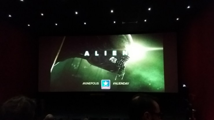 Alien Day screen