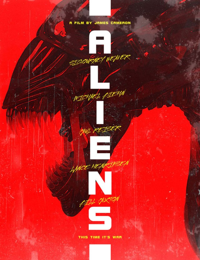 Aliens movie poster