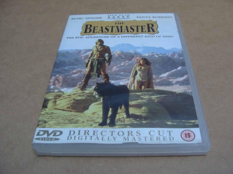 The Beastmaster DVD