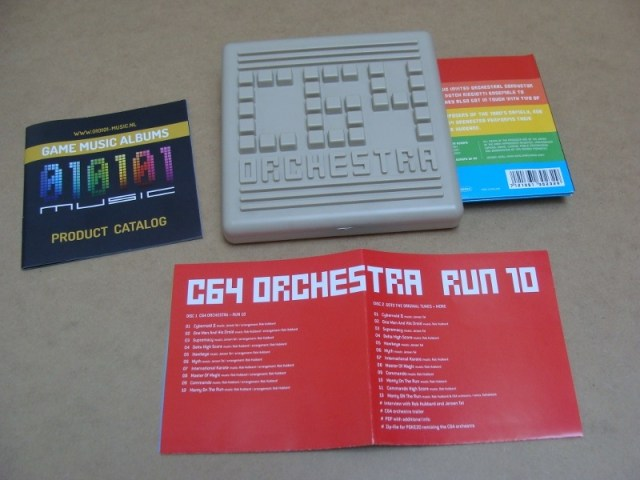 C64 Orchestra Run 10 CD