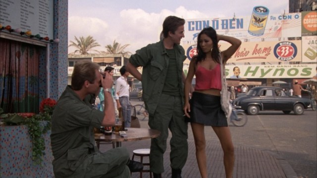 Full Metal Jacket - Joker and Rafterman approached by a Vietnamese hooker