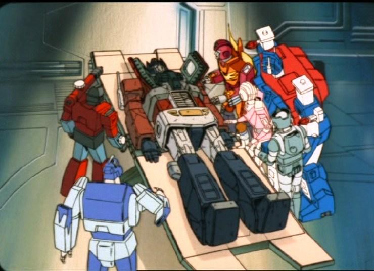 Transformers Death Of Optimus