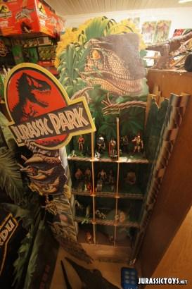 Jurassic Park mancave shelfporn