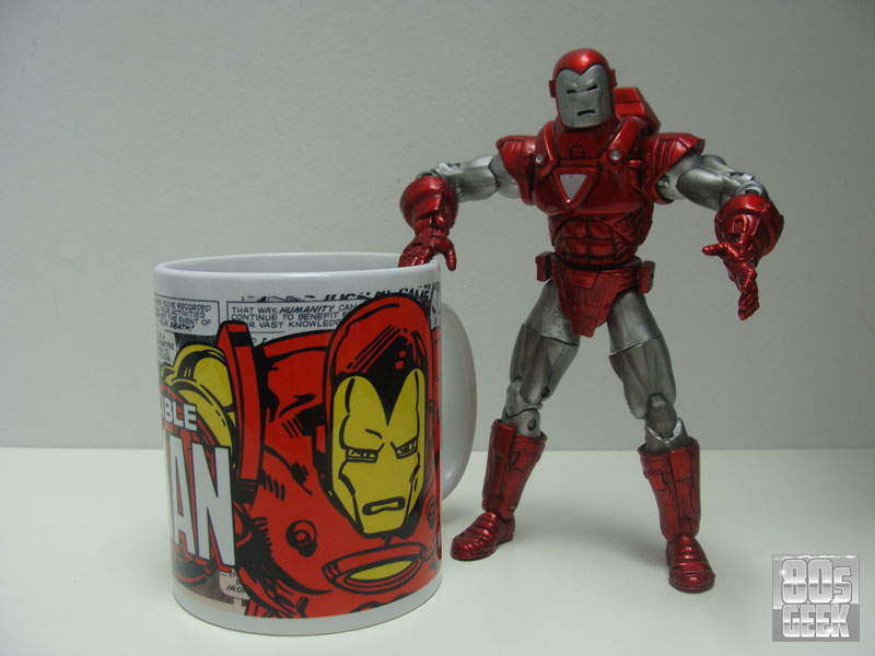 Mugshot Iron Man