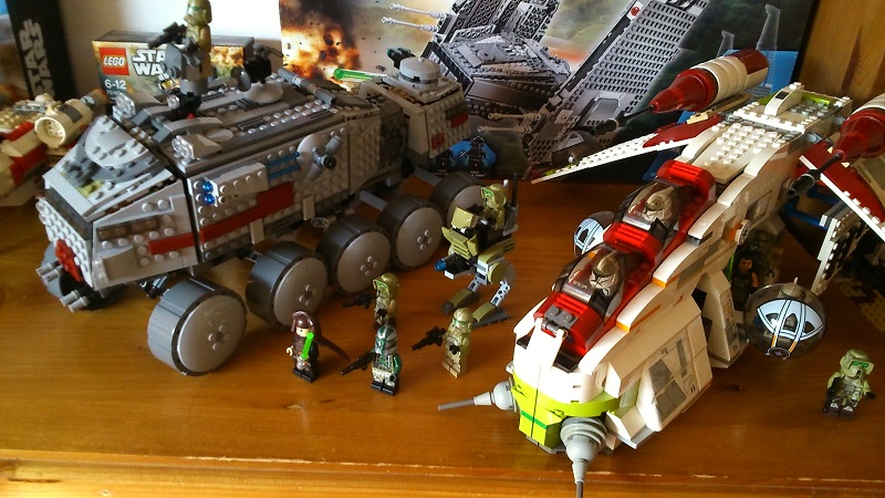 LEGO Clone Troopers