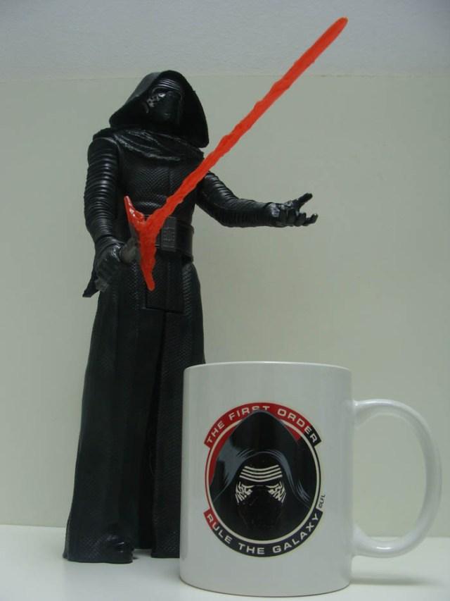 weetjes over mugs Kylo Ren