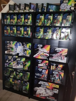 shelfporn Star Wars potf