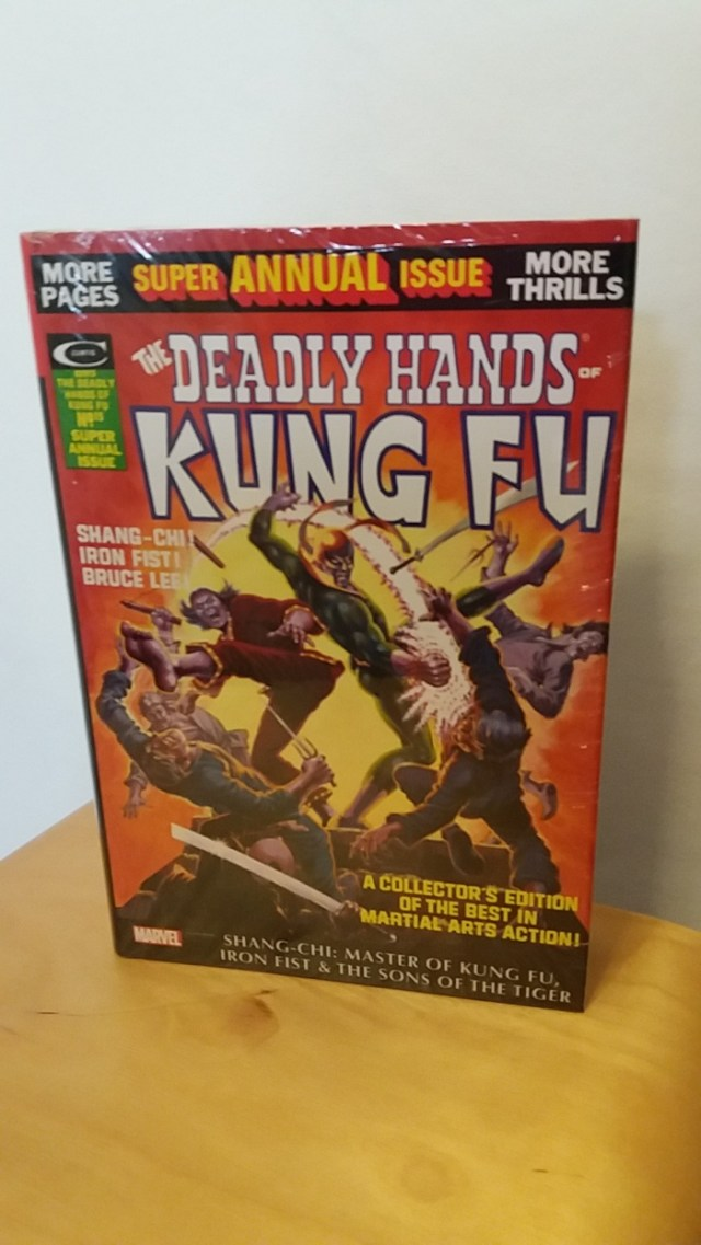 Strips Deadly Hands Of Kung Fu