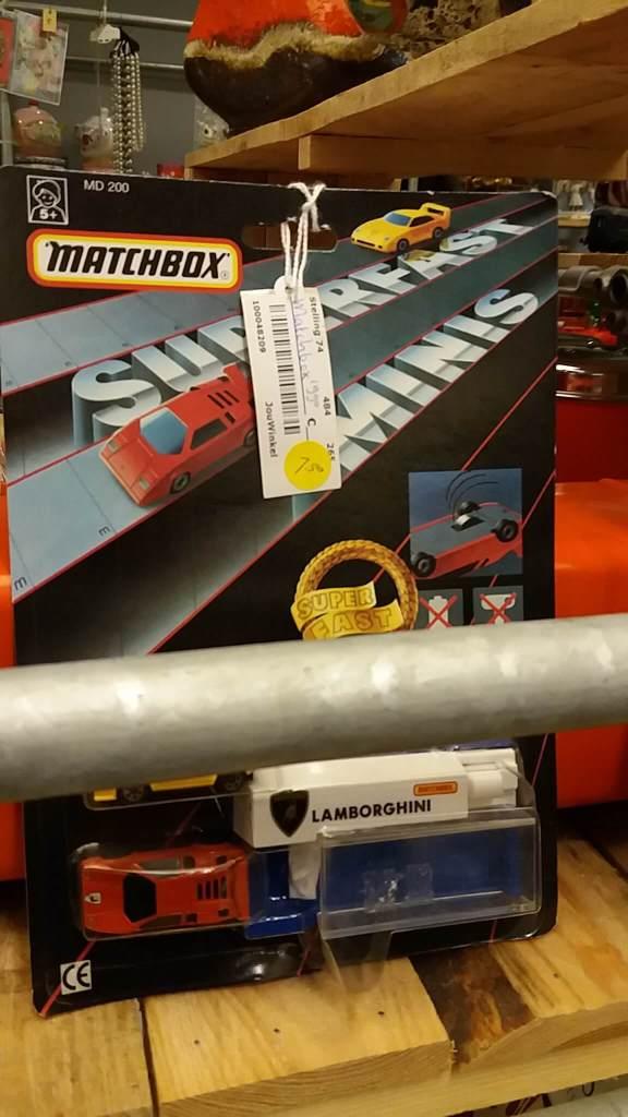 Matchbox 80s straat Lamborghini
