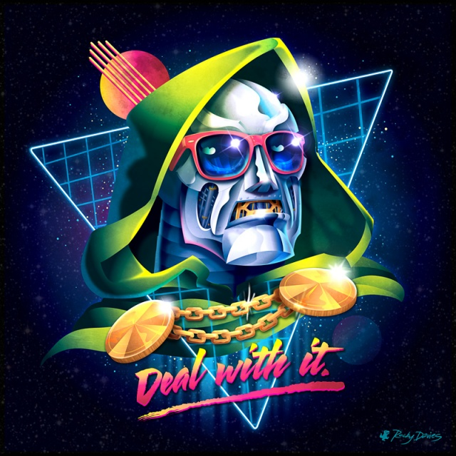 Doctor Doom Fantastic Four Rocky Davies